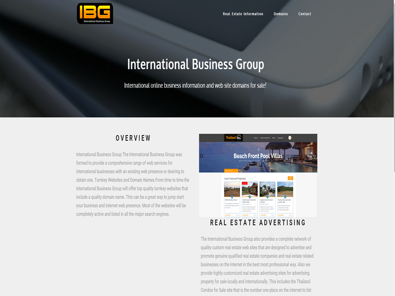 A basic responsive website design that is mobile friendly.